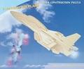 3D Puzzle Holzbausatz - Flugzeug F-16
