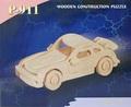 3D Puzzle Holzbausatz - Auto, P-911