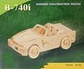 3D Puzzle Holzbausatz - Auto, B-740i