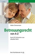 Betreuungsrecht von A-Z (eBook, ePUB)