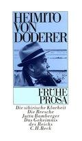 Frühe Prosa (eBook, ePUB/PDF)