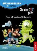 Die drei ??? Kids, Bücherhelden, Der Monster-Schreck (drei Fragezeichen Kids) (eBook, PDF)