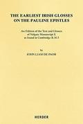 de Paor, The Earliest Irish Glosses