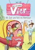 Die frechen Vier 3: Mit Sack und Pack ins Abenteuer (eBook, ePUB)