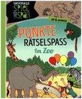 Punkte-Rätselspaß: Im Zoo