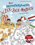Mein monsterlanges Zick-Zack-Malbuch: Fang den Schnurk!