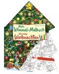 Mein Wimmel-Malbuch - Wimmelige Weihnachten