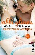Just for Now - Preston und Amanda (eBook, ePUB)