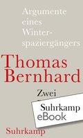Argumente eines Winterspaziergängers (eBook, ePUB)