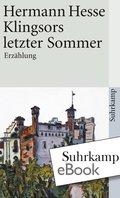 Klingsors letzter Sommer (eBook, ePUB)