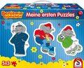 Benjamin Blümchen, Meine ersten Puzzles - Konturpuzzles im Pappkoffer, 5 x 3