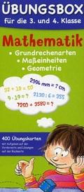 Mathematik - Übungsbox für die 3. und 4. Klasse