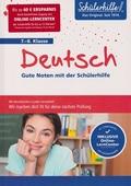 Deutsch 7.-8. Klasse - Gute Noten mit der Schülerhilfe