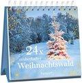 24 x zauberhafter Weihnachtswald