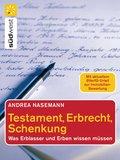 Testament, Erbrecht, Schenkung (eBook, ePUB)
