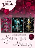 Spiel der Macht (E-Box mit allen Bänden der romantischen Fantasy-Serie) (Die Schatten von Valoria) (eBook, ePUB)
