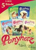 Ponyherz: Band 1-5 der beliebten Pferde-Abenteuer-Serie in einer E-Box! (eBook, ePUB)