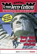 Jerry Cotton 3200 - Krimi-Serie (eBook, ePUB)