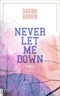 Never Let Me Down (eBook, ePUB)
