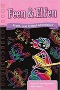 Kratz- und Kritzel-Abenteuer: Feen & Elfen (Mit Schablone und Kratzstift)
