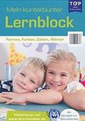 Mein kunterbunter Lernblock - Formen, Farben, Zahlen, Wörter