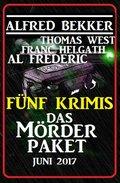 Fünf Krimis: Das Mörder-Paket (eBook, )
