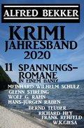 Krimi Jahresband 2020 - 11 Spannungsromane in einem Band! (eBook, )