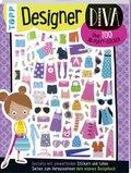 3D-Sticker- und Rätselbuch: Designer Diva