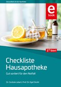 Checkliste Hausapotheke (eBook, PDF)