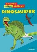 Mein großes farbiges Malbuch Dinosaurier
