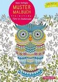 Mein farbiges Mustermalbuch Tiere im Zauberwald