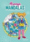 Manga Mandalas (blau)
