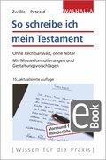 So schreibe ich mein Testament (eBook, PDF)