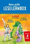 Meine große Leselernbox: Rittergeschichten, Fußballgeschichten, Polizeigeschichten (eBook, ePUB)