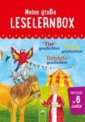 Meine große Leselernbox: Tiergeschichten, Hexengeschichten, Detektivgeschichten (eBook, ePUB)