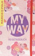 Reisetagebuch MARCO POLO - Motiv My Way Blumen