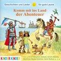 Komm mit ins Land der Abenteuer, 1 Audio-CD
