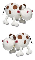 Mordillo Plüschtier - Kuh groß (2 Stück)
