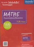 Schülerhilfe - Testmappe Mathe Prozentrechnen/Geometrie (Kl. 7.-8.)