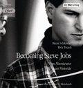 Becoming Steve Jobs, 2 MP3-CDs
