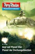 Planetenroman 33 + 34: Asyl auf Planet Vier / Planet der Dschungelbestien (eBook, ePUB)
