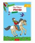 Mein Malbuch - Pferde