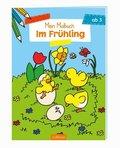 Mein Malbuch - Im Frühling
