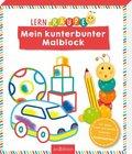 Lernraupe - Mein kunterbunter Malblock