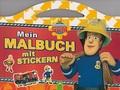 Feuerwehrmann Sam - Malbuch mit Stickern