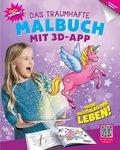 Das traumhafte Malbuch mit 3D-App