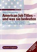 American Job Titles - und was sie bedeuten (eBook, ePUB)