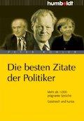 Die besten Zitate der Politiker (eBook, PDF)