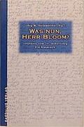 Was nun, Herr Bloom?