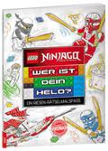 LEGO® NINJAGO™ - Wer ist dein Held? Ein Riesen-Rätselmalspaß